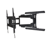 BT8221 - Ultra-Slim Double Arm Flat Screen Wall Mount - Black