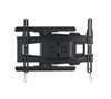 BT8221 - Ultra-Slim Double Arm Flat Screen Wall Mount - Folded Flat - Black