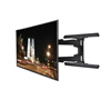 BT8221 - Ultra-Slim Double Arm Flat Screen Wall Mount - With Screen - Black