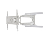 BT8221 - Ultra-Slim Double Arm Flat Screen Wall Mount - White