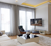 BT8221 - Ultra-Slim Double Arm Flat Screen Wall Mount - Lifestyle Image