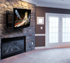 BT8222 Single Arm with Tilt and Swivel Flat Screen Wall Mount - Lifestyle Image