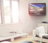 BT8223 Full Motion Arm with Tilt and Swivel Flat Screen Wall Mount - Lifestyle Image