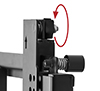 Tool less micro-adjustment of +/-7.5mm at each corner for seamless display alignment
