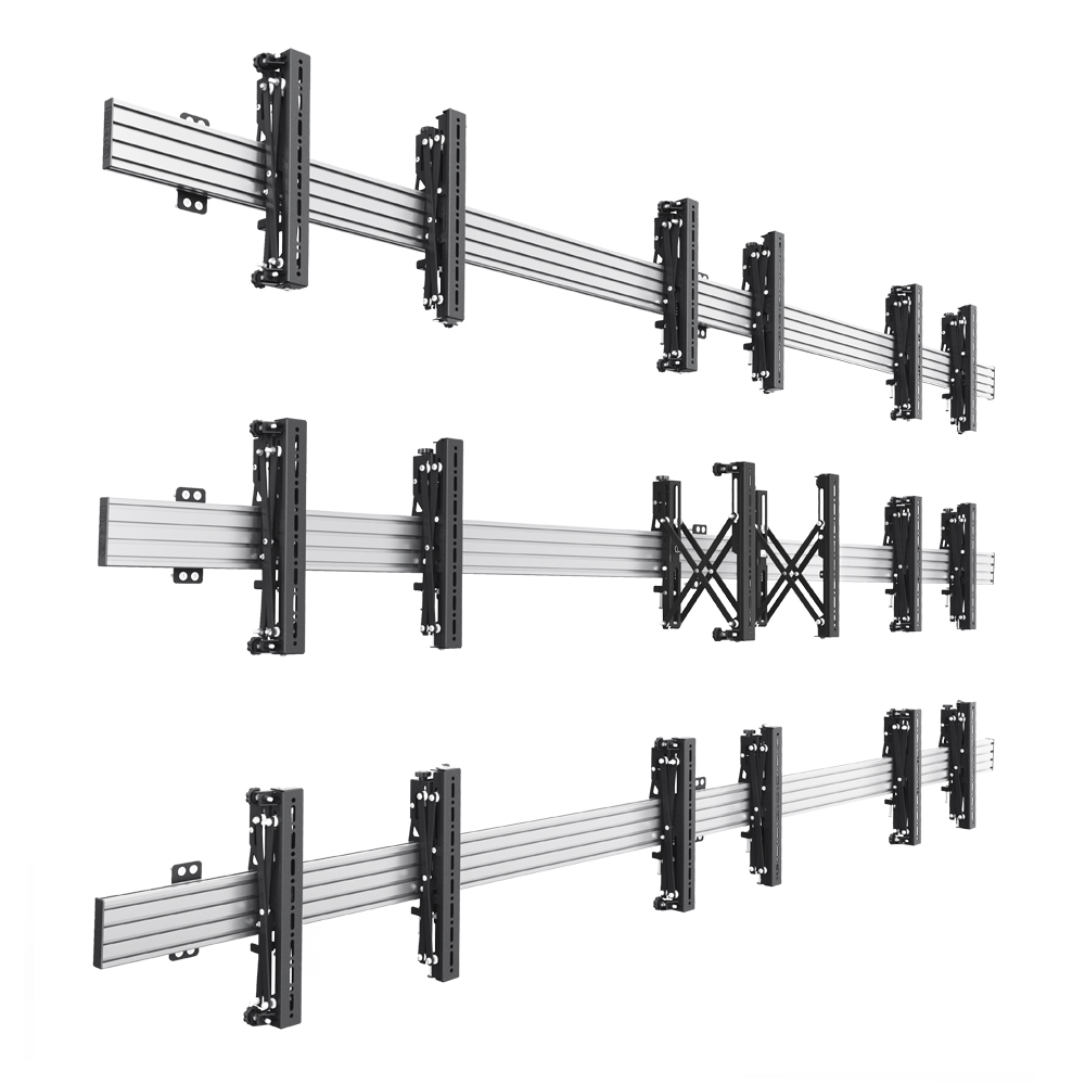 BT8341 - Universal Pop-In, Pop-Out Video Wall Mounting System