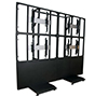 BT8350 - Professional Free Standing Video Wall Mount with Monitors