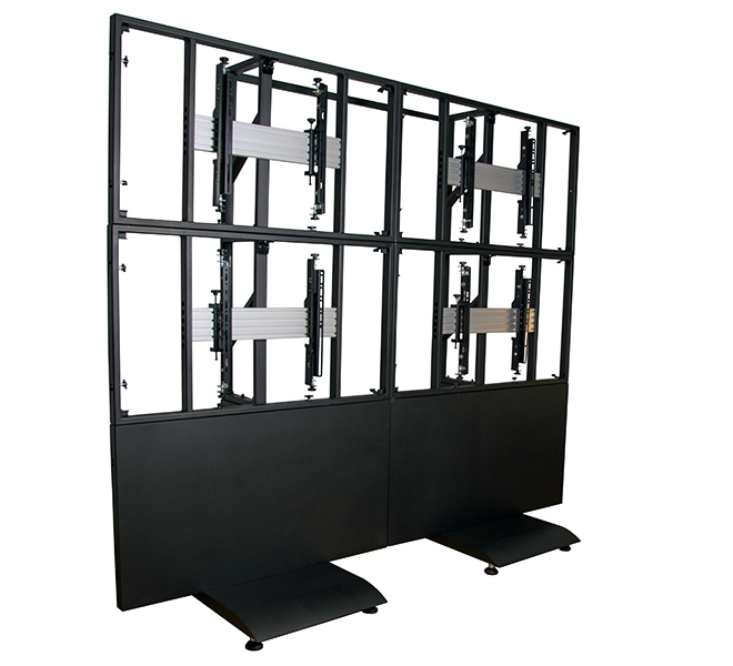 Modular Free Standing Video Wall Mount Products B Tech