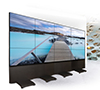 BT8350 - Professional Free Standing Video Wall Mount - Captive Wingnuts and Screws - No Loose Bolts