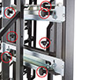 BT8352 - 8 point tool-less micro-adjustment