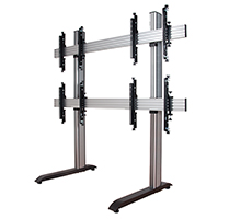 BT8370-2x2 - System X Universal Video Wall Stand for 2x2 Video Walls