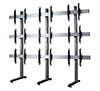 BT8370-3x3 - System X Universal Video Wall Stand for 3x3 Video Walls