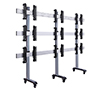 BT8371-3x3 - System X Universal Mobile Videowall Stand for 3x3 Video Walls