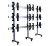 BT8371-3x3 - System X Universal Mobile Videowall Stand for 3x3 Videowalls