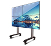 BT8371-2x2 - System X Universal Mobile Video Wall Stand for 2x2 Video Walls