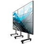 BT8371-3x3 - System X Universal Mobile Video Wall Stand for 3x3 Video Walls