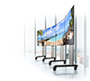 BT8374 - Mobile Curved Videowall Stand