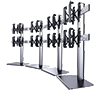 BT8374 - Mobile Curved Videowall Stand (with BT8390-VESA400MAP)