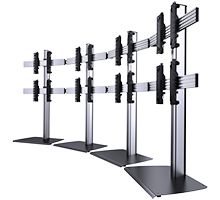 Curved Videowall Stand