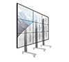 Ideal for creating large video walls in freestanding, mobile or bolt down configurations