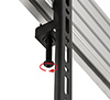 Safety screws help prevent unauthorised removal of screens