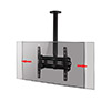 BT8425 - Adjustable Drop Universal Flat Screen Ceiling Mount with Tilt - Screen Alignment