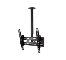 BT8426 Telescopic Universal Flat Screen Ceiling Mount with Tilt