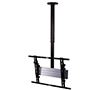 BT8427 - Adjustable Drop Universal Flat Screen Ceiling Mount - Front View