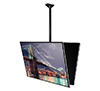 BT8429 - Back to Back Flat Screen Ceiling Mount with Tilt