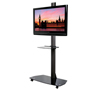 BT8505 - Flat Screen Display Trolley with Glass Base - With Screen