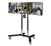 BT8510 - Twin Screen VC Display Trolley - with screens