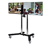 BT8511 - Twin Screen VC Display Trolley - with screens