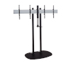 BT8521 - Universal Twin Screen VC Stand with Webcam Shelf
