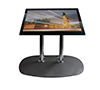 BT8541 Low Level Flat Screen Floor Stand - Lanscape Screen