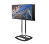 BT8554 Extra Large Flat Screen Back-to-Back Display Stand - with Screens