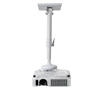 BT882 Universal Projector Ceiling Mount with Extendable Arm - White with Projector