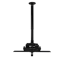 BT893-AD - Adjustable Drop Heavy Duty Projector Ceiling Mount with Micro-Adjustment
