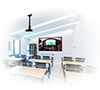 BT899-FD Fixed Drop Projector Ceiling Mount with Micro-Adjustment