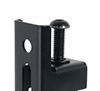 BT9905 - System X Ultra Stretch Signage Mount - Arms feature levelling screws to adjust the height