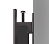 BT9906 - System X Ultra Stretch Signage Mount - Arms feature levelling screws to adjust the height