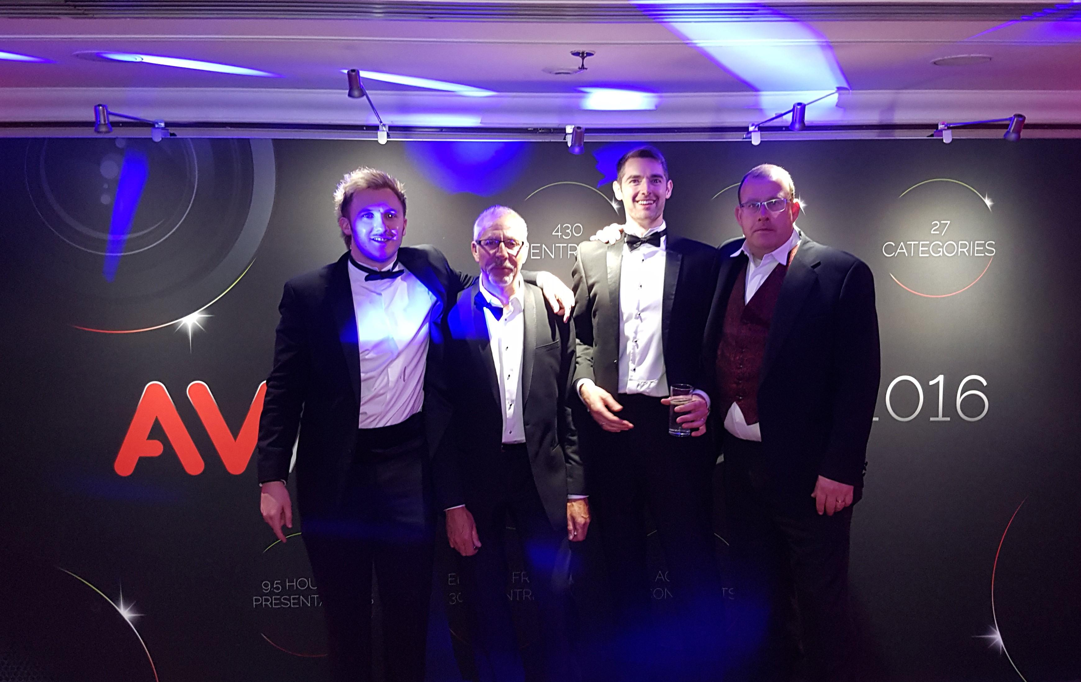 AV Awards 2016 - B-Tech Group Photo