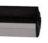 BTBIB100 - Groov-Kleen Premium Record Cleaner - Carbon Fibre Brush with Velvet Insert - High Quality Velvet