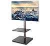 BTF800 Flat Screen TV Stand with Square Base and Screen