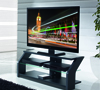 BTF804 Flat Screen TV Cabinet with Glass Top
