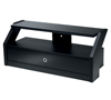 BTF805 Flat Screen TV Cabinet with Glass Top and Pull Out Draw