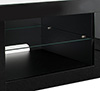 BTF807 - 5mm thick glass storage shelves and cable management