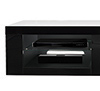 BTF807 - Storage shelves are ideal for holding AV equipment such as satellite boxes and games consoles