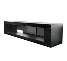 BTF808 - Flat Screen Display Cabinet with Glass Top