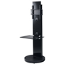 BTF811 1.2m TV Stand with 1 Shelf - Black