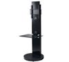 BTF811 1.2m TV Stand with 1 Shelf - Black