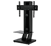 BTF812 - Flat Screen Display Stand with shelf